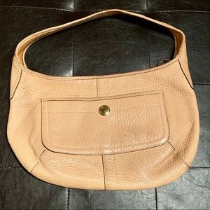 COACH Tan Leather Handbag